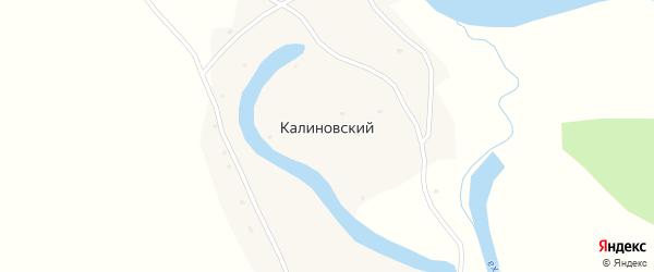 Чумышская улица на карте Калиновского поселка с номерами домов