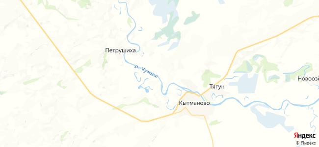Беспалово на карте
