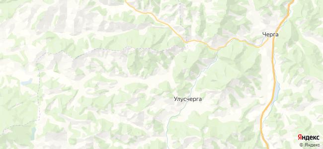 Могута на карте