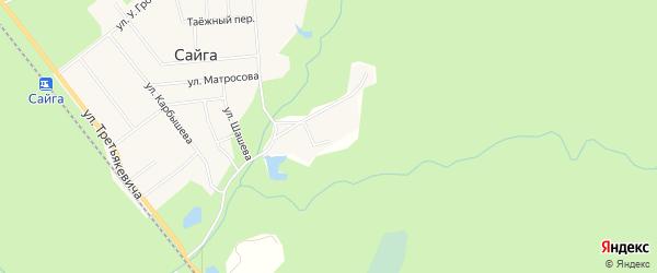Территория Подсобное хозяйство N3 на карте Верхнекетского района Томской области с номерами домов