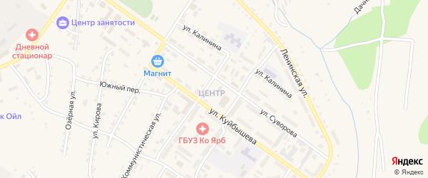 1-й ряд на карте территории Садовой 67А с номерами домов