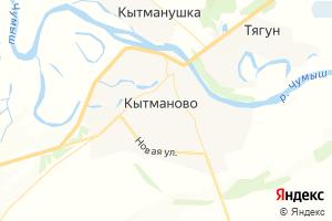 Карта с. Кытманово Алтайский край