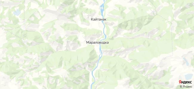 Мараловодка на карте