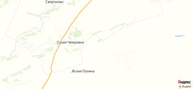 Березовая Горка на карте