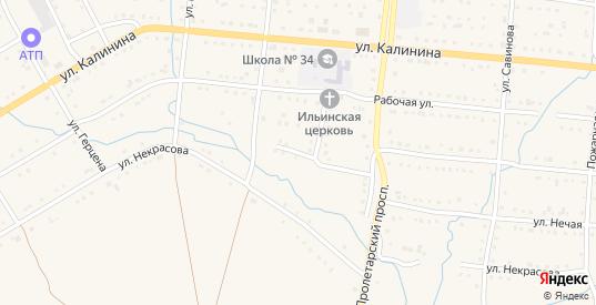 Южный переулок в Тайге с номерами домов на карте. Спутник и схема онлайн