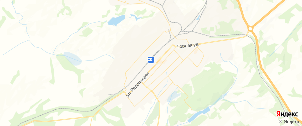 Карта Топки с районами, улицами и номерами домов
