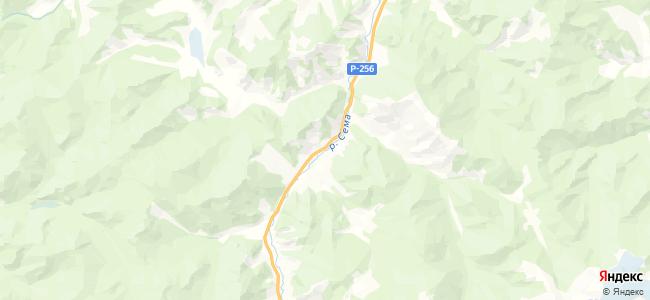 Кумалыр на карте