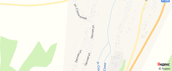 Солнечная улица на карте села Шебалино Алтая с номерами домов