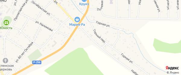 Набережная улица на карте села Шебалино Алтая с номерами домов