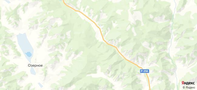 Туэкта на карте
