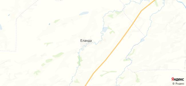 Еланда на карте