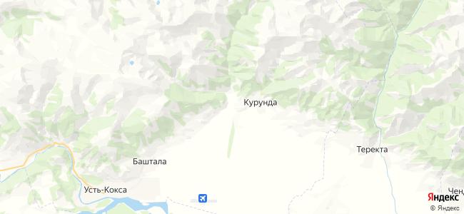 Кастахта на карте