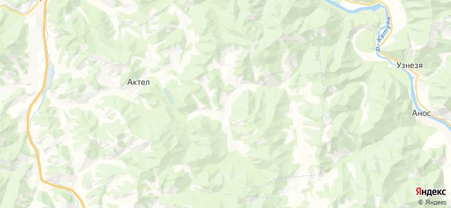Камай на карте