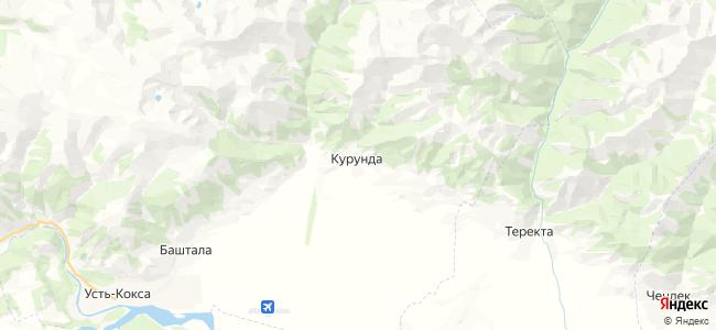Курунда на карте