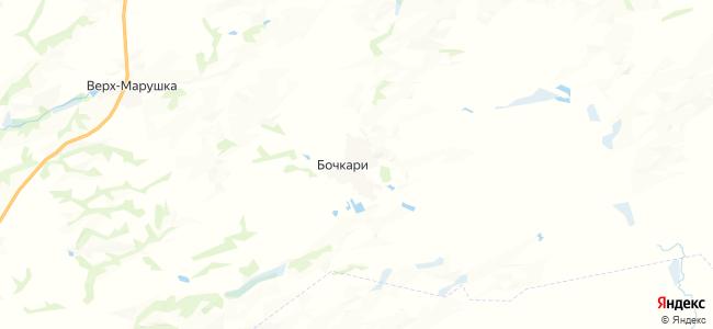 Бочкари на карте