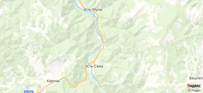 Барангол на карте