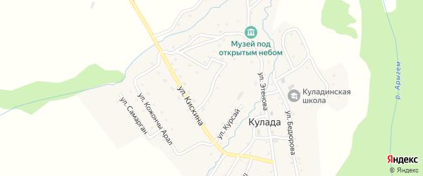 Улица Толос город на карте села Кулады Алтая с номерами домов