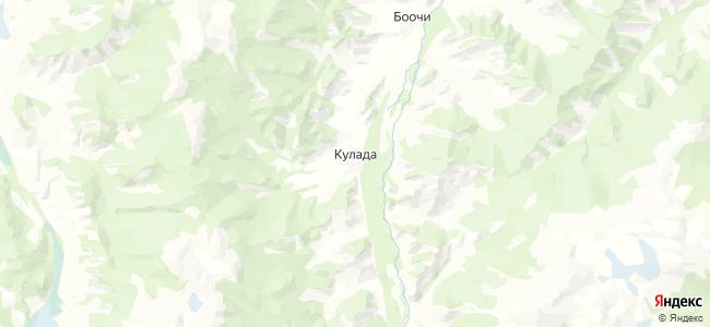 Кулада на карте