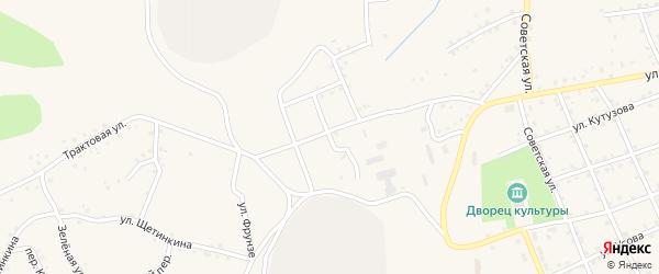 Первомайская улица на карте Салаира с номерами домов
