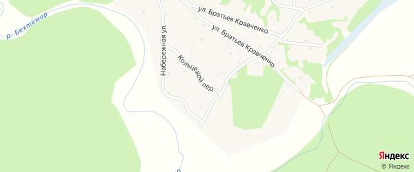 Кольцевой переулок на карте села Шебалино с номерами домов