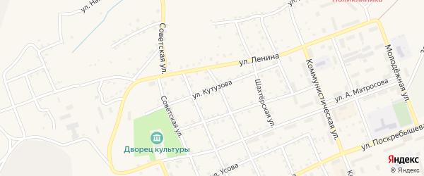 Улица Кутузова на карте Салаира с номерами домов