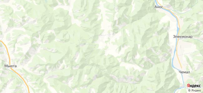 Верх-Анос на карте