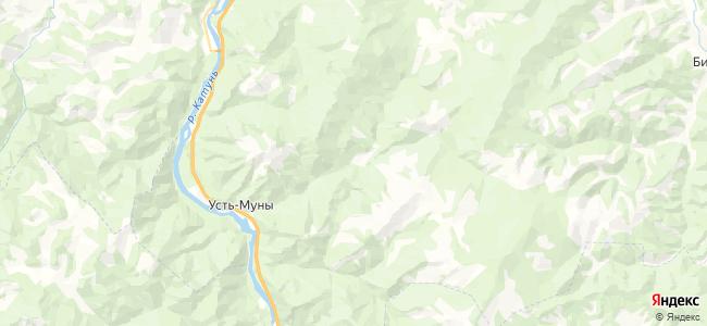 Карым на карте