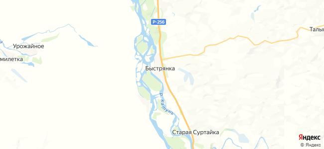 Быстрянка на карте