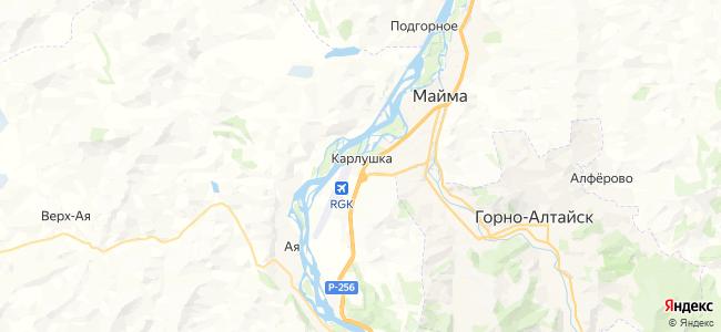 Карлушка на карте