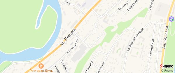 Сырзаводская улица на карте села Майма Алтая с номерами домов