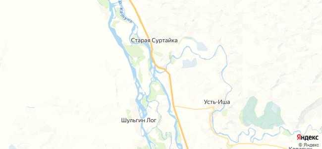 Мост-Иша на карте