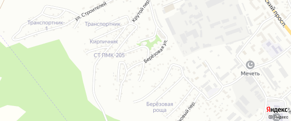 Березовая улица на карте Горно-Алтайска с номерами домов