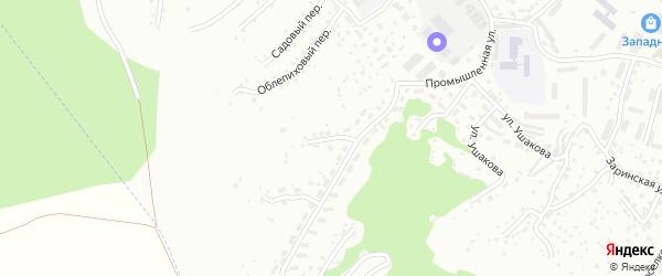 Песчанный переулок на карте Горно-Алтайска с номерами домов