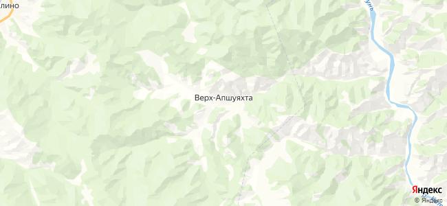 Верх-Апшуяхта на карте