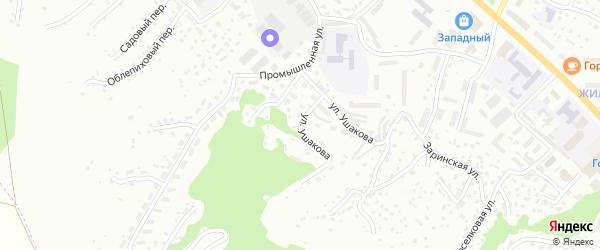 Веселый переулок на карте Горно-Алтайска с номерами домов