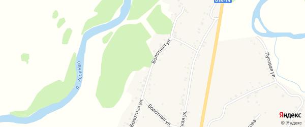 Болотная улица на карте села Старого Тогула Алтайского края с номерами домов