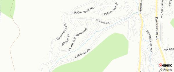 Переулок имени Н.В.Толмачева на карте Горно-Алтайска с номерами домов