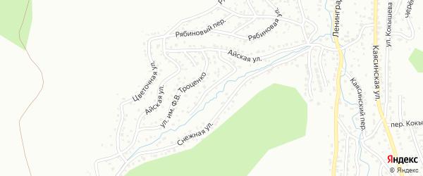 Улица Имени Н.В.Толмачева на карте Горно-Алтайска с номерами домов