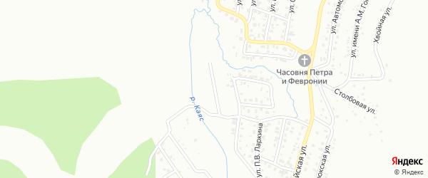 Улица имени М.С.Евдокимова на карте Горно-Алтайска с номерами домов