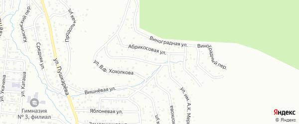 Улица имени А.К.Мери на карте Горно-Алтайска с номерами домов