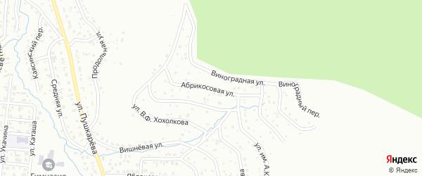 Абрикосовая улица на карте Горно-Алтайска с номерами домов