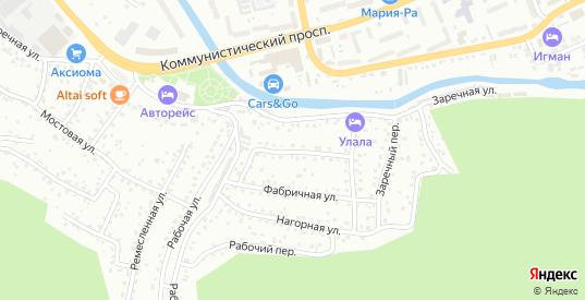 Улаганская улица в Горно-Алтайске с номерами домов на карте. Спутник и схема онлайн