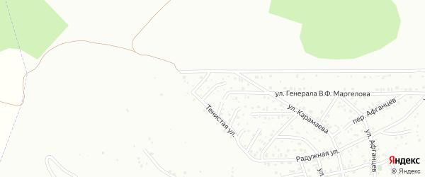 Геодезический переулок на карте Горно-Алтайска с номерами домов