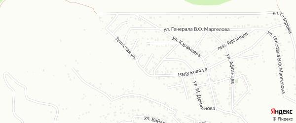 Братская улица на карте Горно-Алтайска с номерами домов