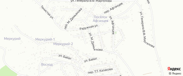 Улица М.Демьянова на карте Горно-Алтайска с номерами домов