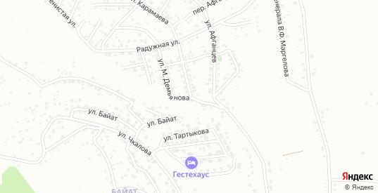 Улица имени М.С.Евдокимова в Горно-Алтайске с номерами домов на карте. Спутник и схема онлайн