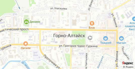 Улица Тощаковой в Горно-Алтайске с номерами домов на карте. Спутник и схема онлайн