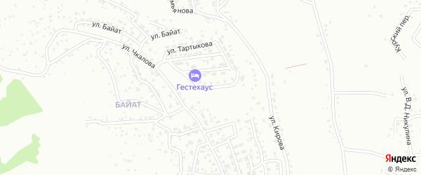 Переулок М.В.Чевалкова на карте Горно-Алтайска с номерами домов
