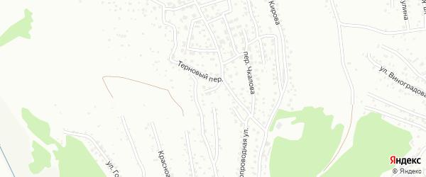 Ранетный переулок на карте Горно-Алтайска с номерами домов