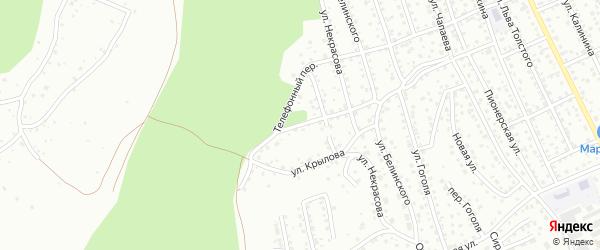 Улица Лесная поляна на карте Горно-Алтайска с номерами домов